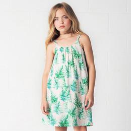 Jak & Peppar Palmetto Island Lotus Swing Dress