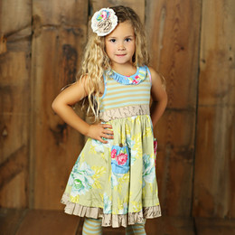 Mustard Pie Apple Blossom Cozette Dress