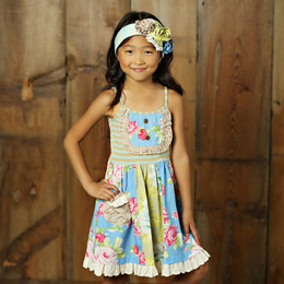 Mustard Pie Apple Blossom Sophie Dress