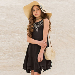Joyfolie Karina Dress - Black