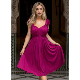Joyfolie Ellen Dress (Women's) - Garnet