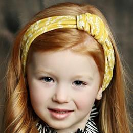 Mustard Pie English Blue Gidget Headwrap - Golden