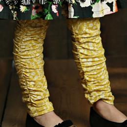 Mustard Pie English Blue Leila Legging - Golden