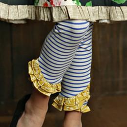 Mustard Pie English Blue Ellie Legging - Blue Stripe (*New Style!*)