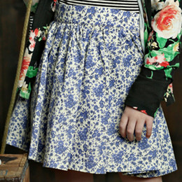 Mustard Pie English Blue Emerson Skirt - English Blue