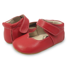 Livie & Luca Astrid Baby Shoes - Scarlet (Fall 2018)