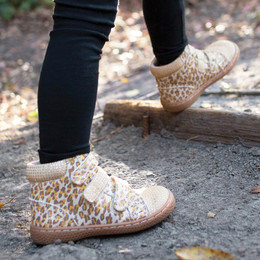Livie & Luca Jamie Booties - Leopard Shimmer (Fall 2018)