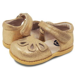 Livie & Luca Petal Shoes - Golden Shimmer (Fall 2018)