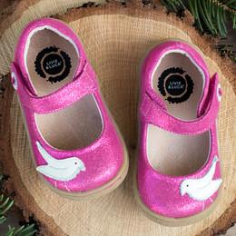Livie & Luca Pio Pio Shoes - Fuchsia Sparkle (Fall 2018)