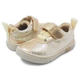 Livie & Luca Spin Sneakers - Cream Tinsel (Fall 2018) (*New Style*)