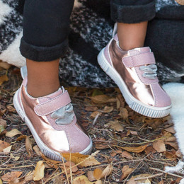 Livie & Luca Spin Sneakers - Rosegold Shimmer (Fall 2018) (*New Style*)