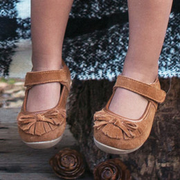 Livie & Luca Willow Shoes - Camel Suede (Fall 2018) (*New Style*)