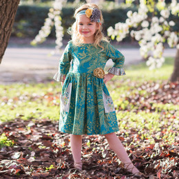 Giggle Moon Loving Deer Phoebe Dress