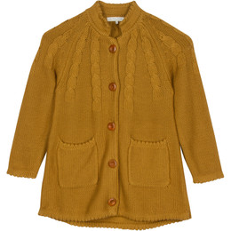 Blu Pony Vintage Annabelle Cardigan Sweater - Winter Straw