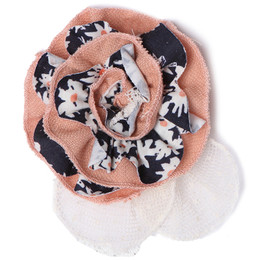 Isobella & Chloe Apricot Lane Hard Headband - Navy