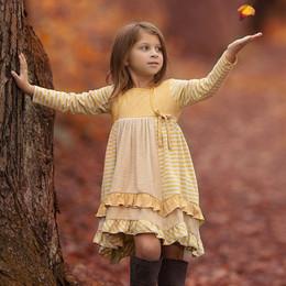 Isobella & Chloe Goldilocks Dress - Yellow