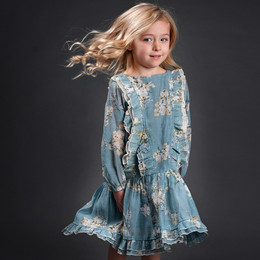 Isobella & Chloe Four Seasons Dress - Blue