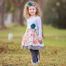 Haute Baby Gracie's Garden Dress