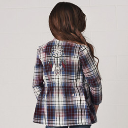 Jak & Peppar Jamboree Jacket - Washed Plaid