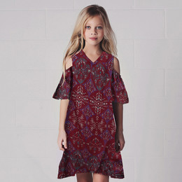Jak & Peppar Nirvana Cecily Dress - Brick