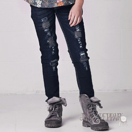 Jak & Peppar Peppar Patch Skinnies - Grey Patch