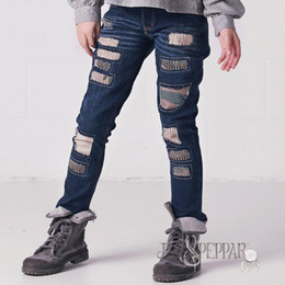 Jak & Peppar Peppar Boyfriend Skinnies - Camo Patch