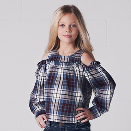Jak & Peppar Downtown Top - Washed Plaid