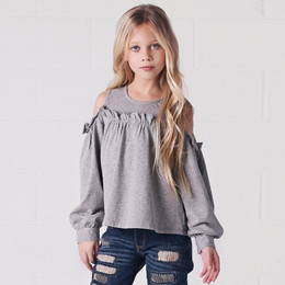 Jak & Peppar Downtown Top - Heather Grey