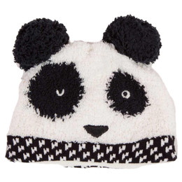 Catimini Graphic City Garcon All Fire And Flame Panda Bear Hat