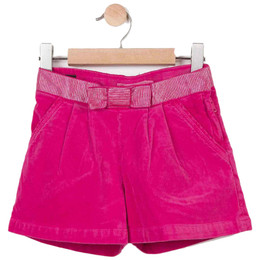 Catimini Graphic Floral All In The Air Velvet Shorts