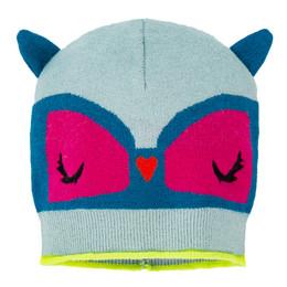 Deux Par Deux Owl You Need Is Love Knit Hat