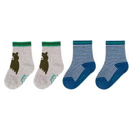 Deux Par Deux Forest Fest Socks - 2 pairs