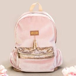 Joyfolie Lexi Backpack - Blush Velvet
