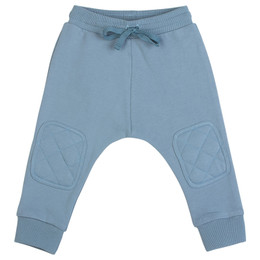 Paper Wings  Little Wings Padded Fleece Trackies - Dusk Blue
