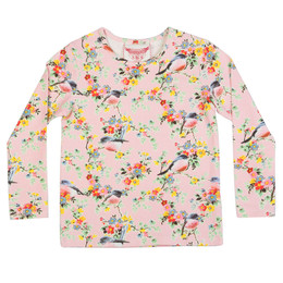 Paper Wings Classic Long Sleeve Tee - Vintage Flowers