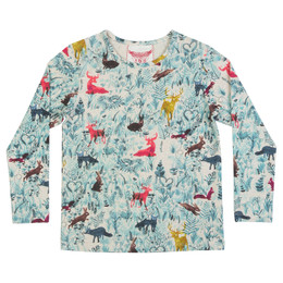 Paper Wings  Classic Long Sleeve Tee - Forest