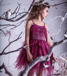 Tutu Du Monde A Winter's Tale Queen Of The Vines Tutu Dress - Blackberry