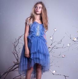 Tutu Du Monde A Winter's Tale Stormy Wings Tutu Dress - Serenity