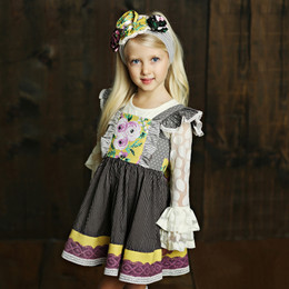 Mustard Pie Vintage Violet Ashton Dress - Vintage Violet (*Top Sold Separately*)