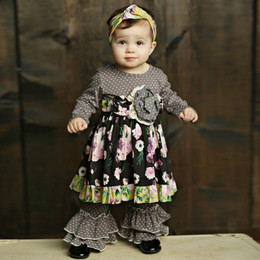 Mustard Pie Vintage Violet Olivia 2pc Dress Set - Vintage Violet (*Now up to 6X!*)