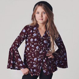 Jak & Peppar Veruca Salt Wildflower Tunic