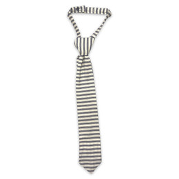 Little Prim Boy's Becket Necktie - Ticking Stripe