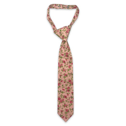 Little Prim Boy's Becket Necktie - Rose Garden