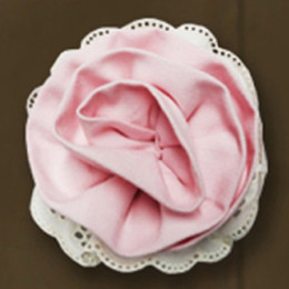 Little Prim Rose Clip - Petal
