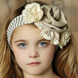 Little Prim Lottie Headband (Belt/Headband) - Ticking Stripe