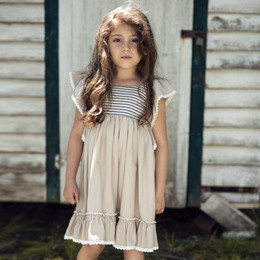 Little Prim Maya Dress - Linen