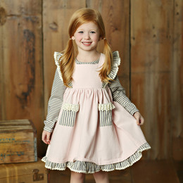 Little Prim Alice Dress - Petal (*Striped Top Sold Separately*)