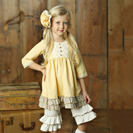 Little Prim Evie Dress - Butter