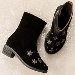 Joyfolie Wren Boots - Black Stars