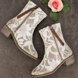 Joyfolie Wren Boots - Lace